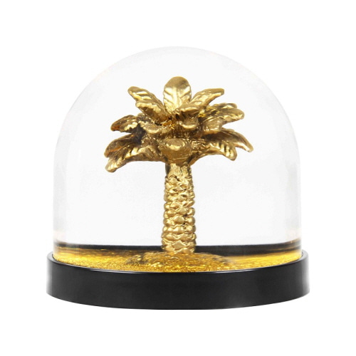 WONDERBALL PALM TREE GOLD GLITTER