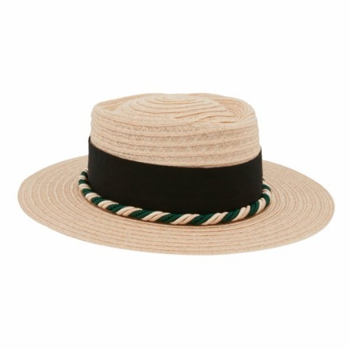 CANOTIER GERHARD BLACK-GREEN HAT