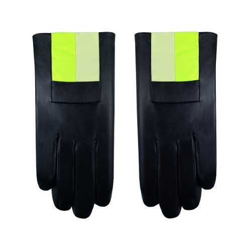 BLACK-YELLOW GLOVES