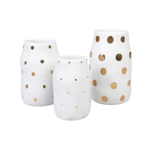 [앤클레버링] VASE DOTS - SET OF 3