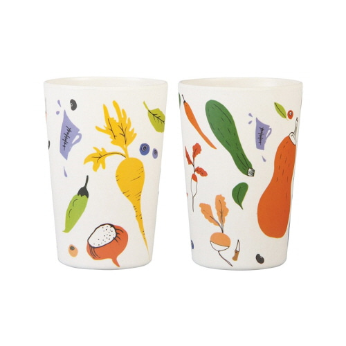 [앤클레버링] BAMBOO MUG - 2 PCS IN 1 SET