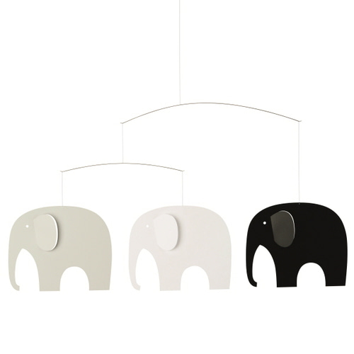 [플렌스테드] ELEPHANT PARTY BLACK/WHITE